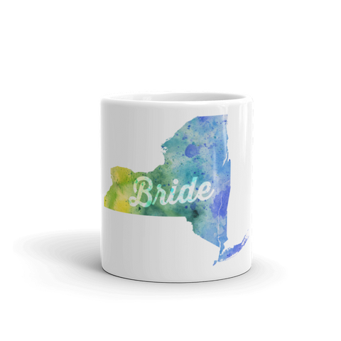 New York Bride Mug