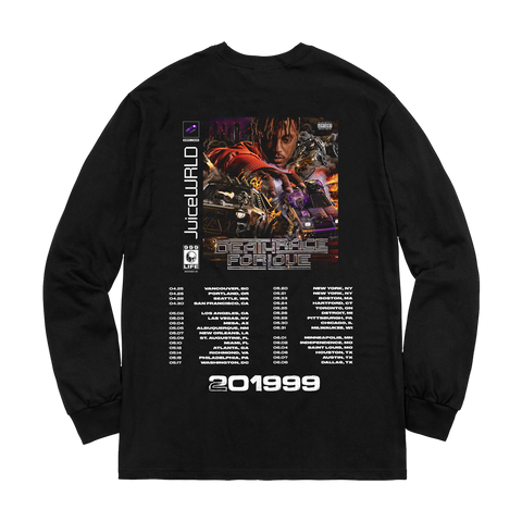 Death Race For Love Tour Longsleeve + Digital Album
