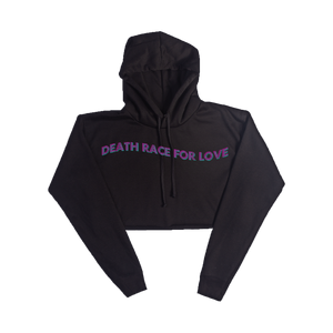 Death Race For Love Women's Crop Hoodie + Digital Album