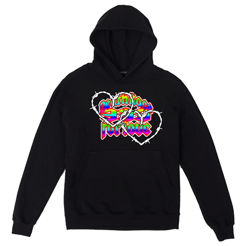Half Evil Death Race Hoodie (Multi) + Digital Album
