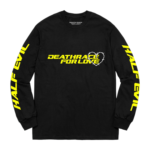 Half Evil Death Race Longsleeve (Yellow) + Digital Album