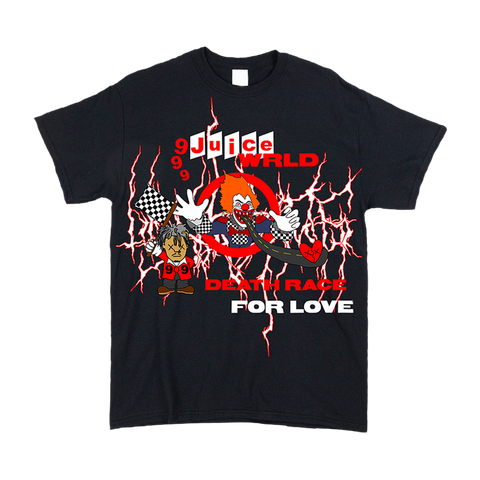Sukamii Death Race T-Shirt (Red) + Digital Album