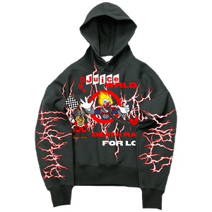 Sukamii Death Race Hoodie (Red) + Digital Album
