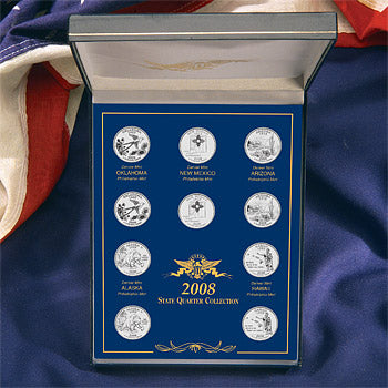 10-Coin Statehood Quarter Year Set