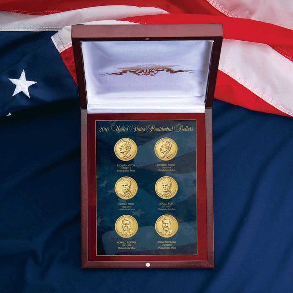 Presidential Golden Dollar Year Set