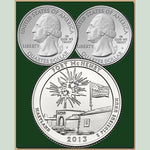 America the Beautiful State Quarter Dollars (Set of 5)