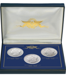 New Orleans Mint Morgan Silver Dollar 3-Coin Set