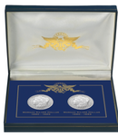New Orleans Mint Morgan Silver Dollar 2-Coin Set