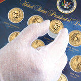 Presidential Golden Dollar Framed Collection