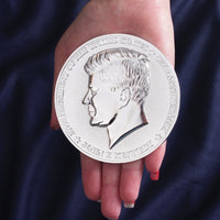 JFK Half Pound 50th Anniversary Silver-Enriched Commemorative Proof