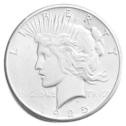 2 Silver Peace Dollars