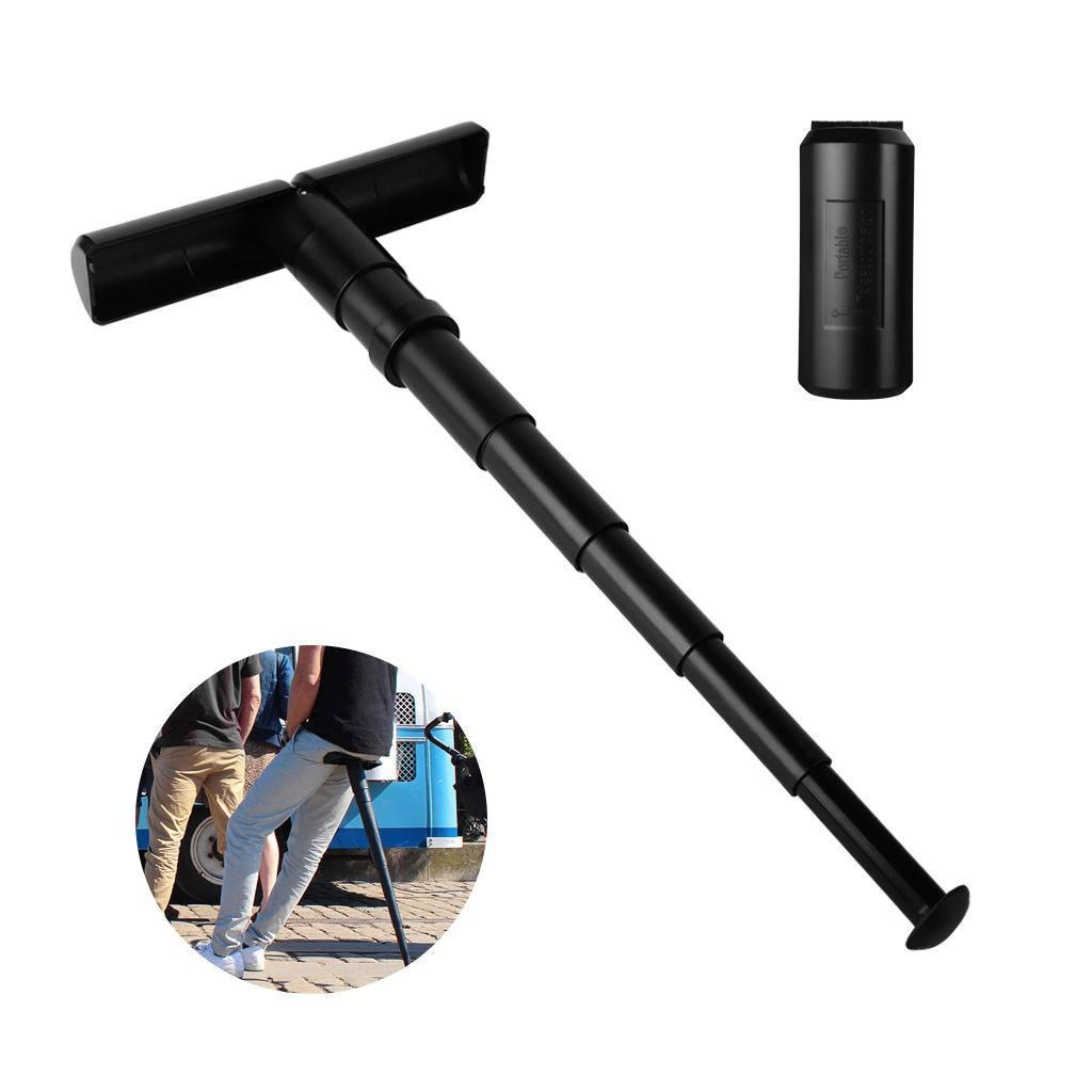Mini outdoor folding telescopic stool