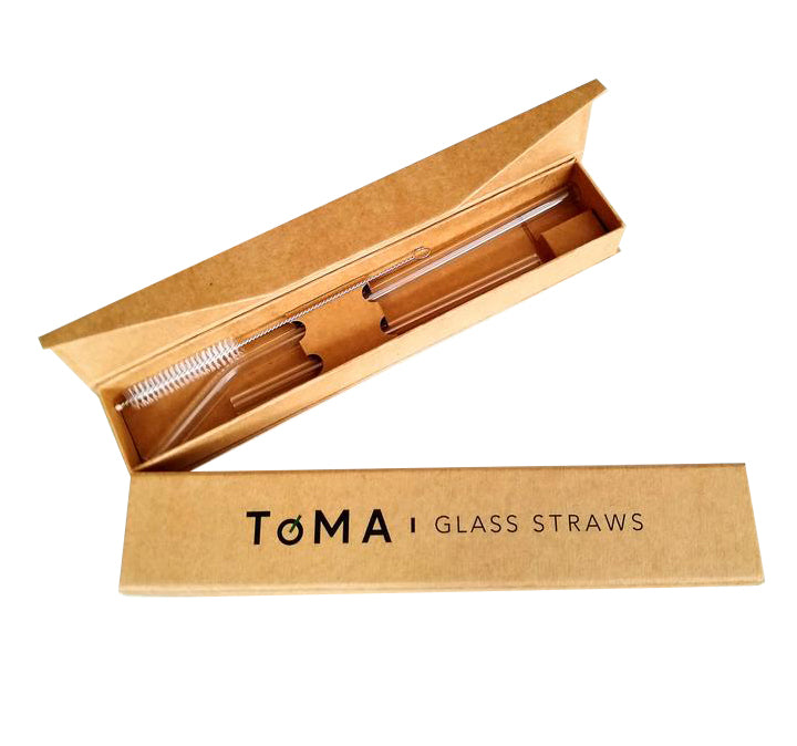 ToMA Glass Straw Gift Pack Collection  (10 boxed sets with 2 straws each)