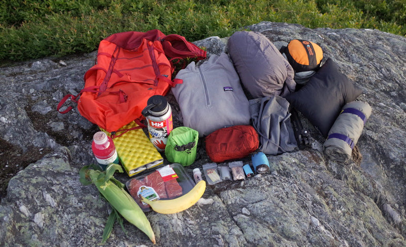Choose clothes for hiking