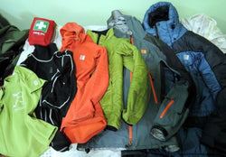 Clothing for hiking, and camping
