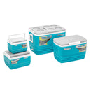 Eskimo Set of Blue Coolers for Camping (4 pcs in set)