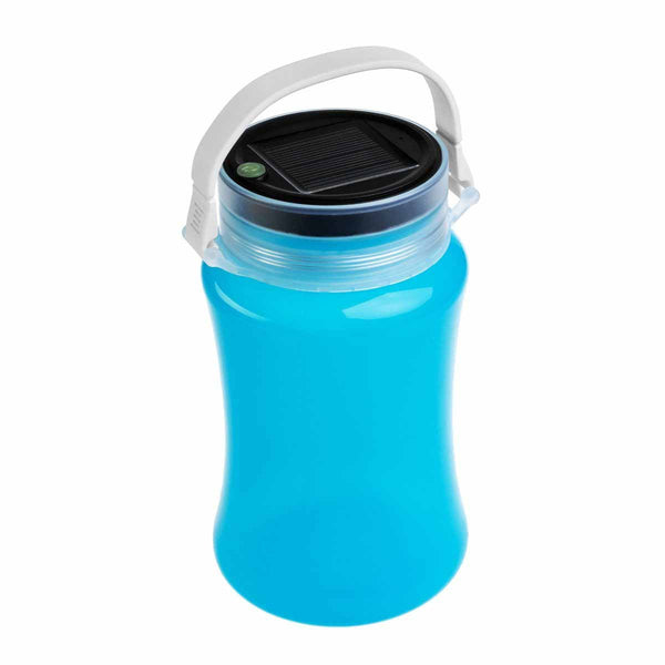Solar Collapsible Lantern, Outdoor USB Rechargeable Lantern