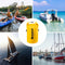 50L Yellow Waterproof Dry Bag for Sailing, Canoeing, Boating, Fishing