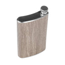 Stainless Steel Hip Alcohol Flask in Case 15 oz