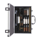 Universal Cleaning Kit for Hunting Accessories, 24 Items, Aluminum Case