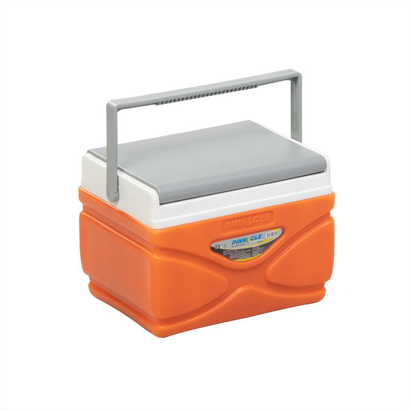 Prudence Small Hard-Sided Cooler for Camping, Traveling, Picnics, 4 qt, Orange