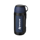 Big 47 oz Stainless Steel Vacuum Bottle, Insulated Travel Water Bottle, Soft-Touch, Blue