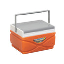 Prudence Small Hard-Sided Outdoor Camping Cooler, 11 qt, Orange