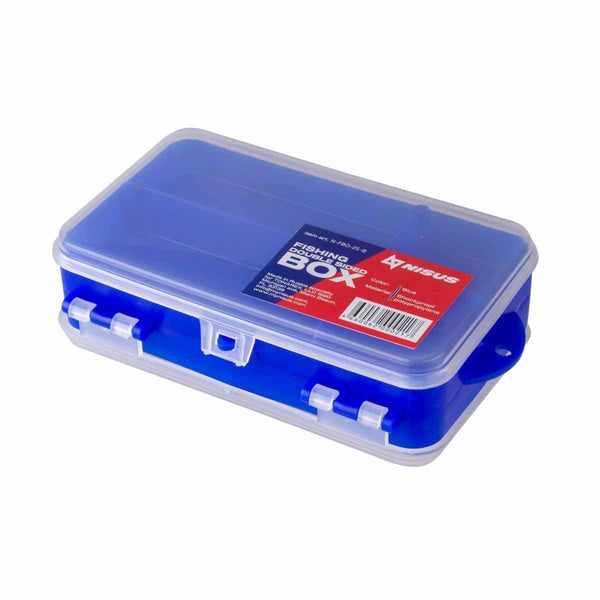 Plastic Pocket Tackle Box, Clear Fishing Tackle Lure Organizer