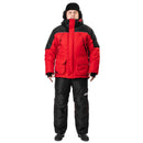 Angler Pro Windproof Winter Fishing Coat Pants Set for Men, Red