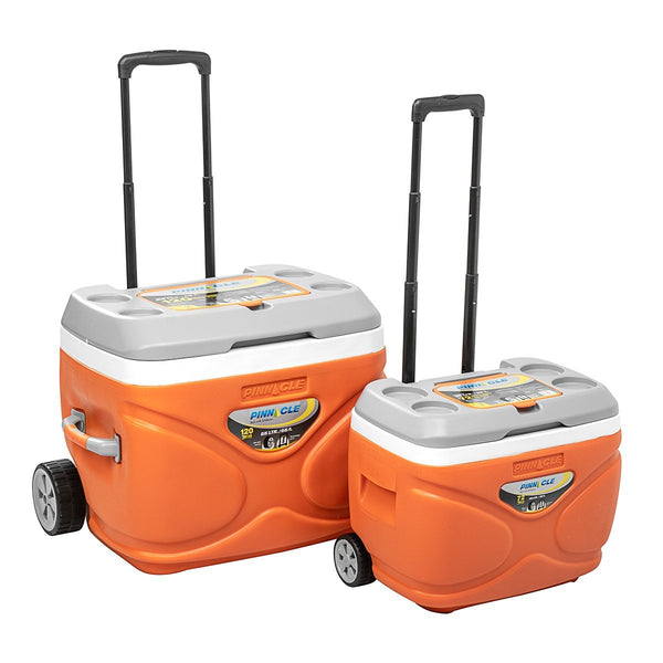 Prudence Set of Portable Ice Chests on Wheels (2 pcs in set)