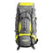 TRAVEL Extra Large Multi-Day Waterproof Framed Mountain Backpack with Rain Cover, 120L
