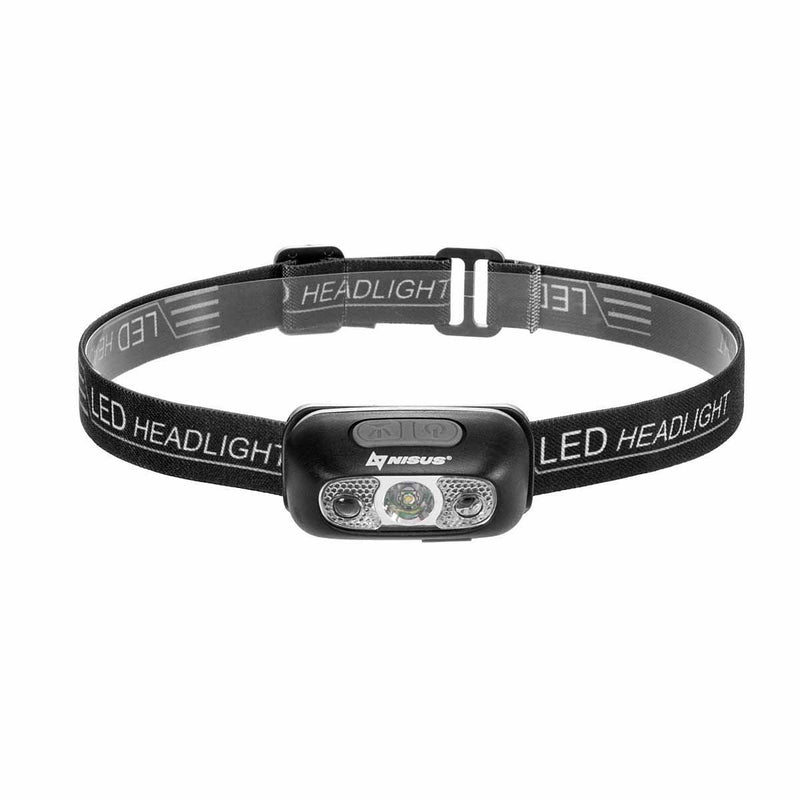 USB Rechargeable Water-resistant Headlamp with Smart Sensor Mode