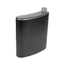 Stainless Steel Hip Alcohol Flask in Case 34 oz