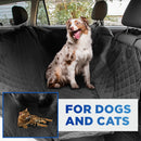 Pet Backseat Waterproof Cover for Vehicles 54x58 in