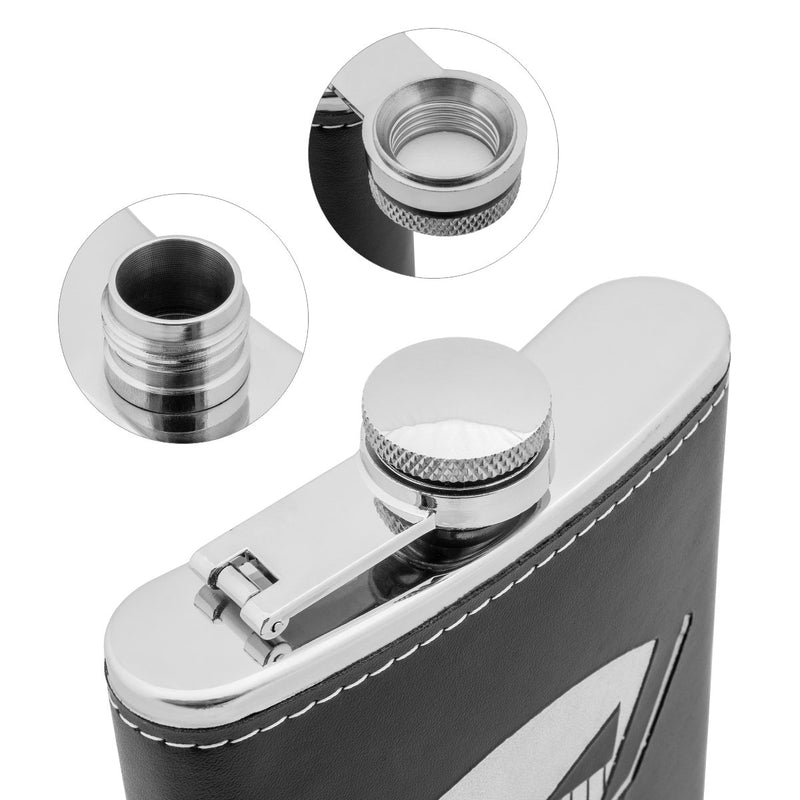 9 oz Best Man Stainless Steel Gift Flask for Strong Alcohol