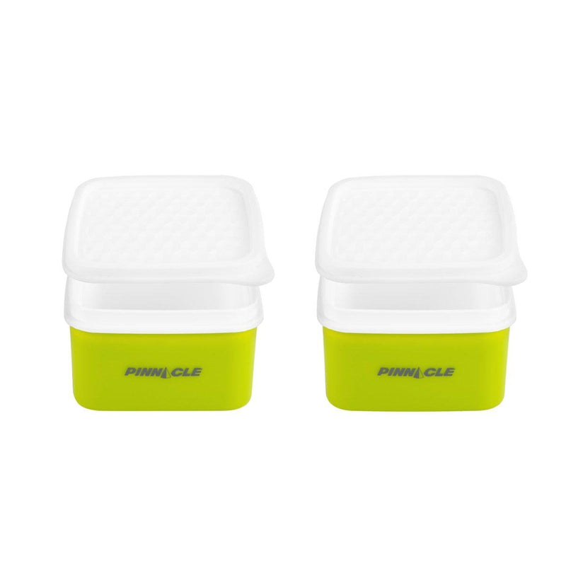 Passion, set of 2 plastic lunch containers (2x0.25 L) + bag