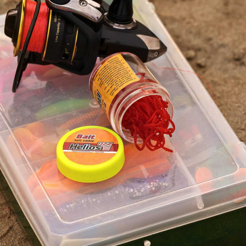 Artificial Lure Blood Worm 1.5 Oz