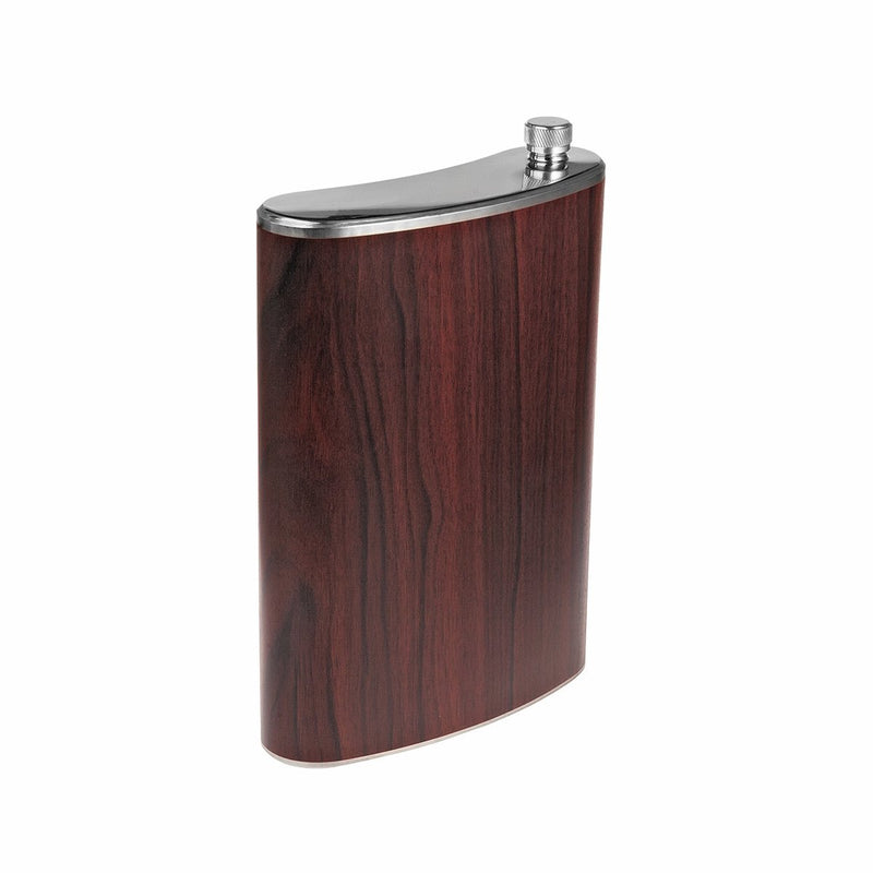 Stainless Steel Hip Alcohol Flask in Case 68 oz
