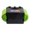 FishBox Ice Fishing Tackle Box with Seat, Plastic Tackle Storage Box, Green Orange Tackle Box, 10L