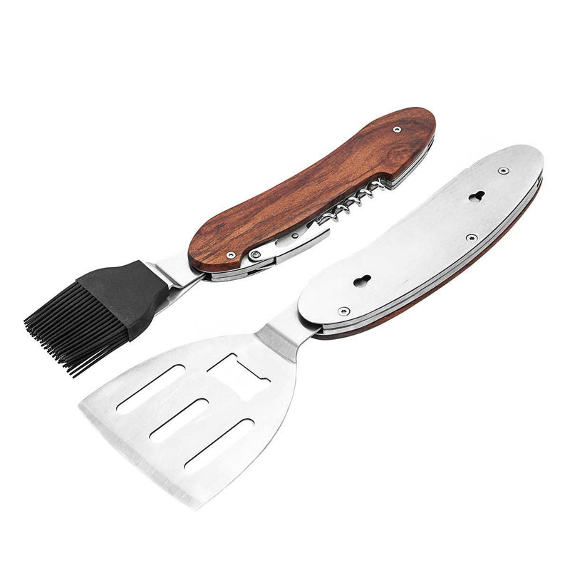 Multifuctional Portable BBQ Multitool for Camping