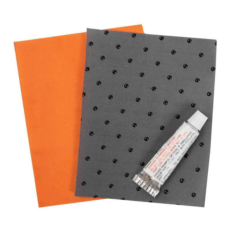 1.5 inch Orange Roll Up Self-Inflatable Foam Sleeping Mat