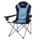 Portable Camping Armchair with Cup Holder Armrest Oversize