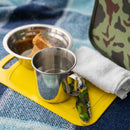 Stainless Steel Picnic Set in Camo Bag for Two Persons