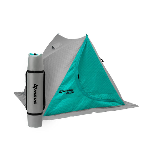 Delta Warmed Portable 2-person Ice Fishing Tent Shelter