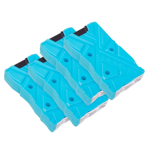 Ice Brick for Coolers, Ice Chests, 330 ml, Set of 4