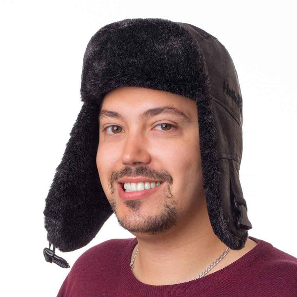 Angara Trooper Trapper Hat Russian Ushanka with Ear Flaps