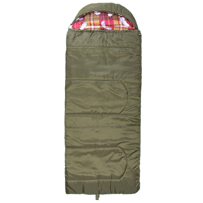 TRAVEL 220/90/400 Large Size Lightweight Synthetic Cotton Lined Camping Sleeping Bag