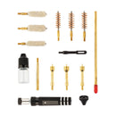 Pistol Cleaning Kit, .357; .40; .45 caliber, 14 items, plastic case HS6055