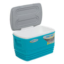 Eskimo Large Blue Hard Cooler for Outdoor, Camping, Picnics 36 qt