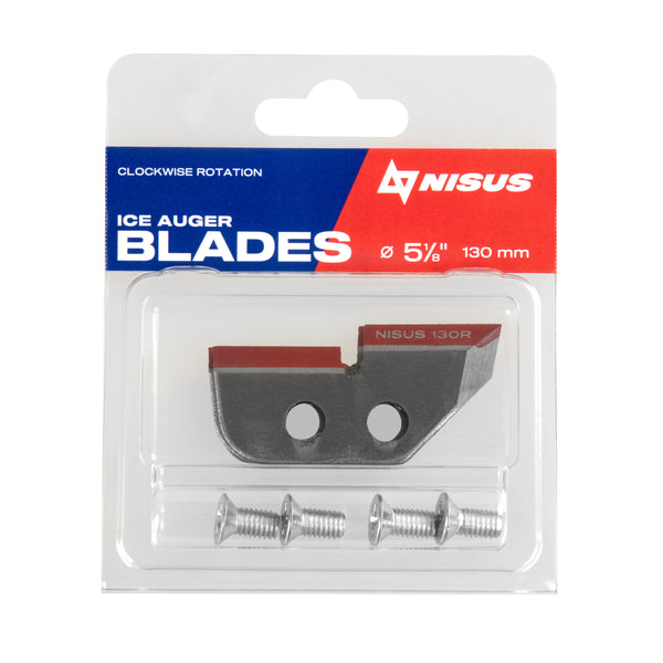 Replacement Ice Auger Blades for Tornado, Buran, Motoshtorm, Classic Augers